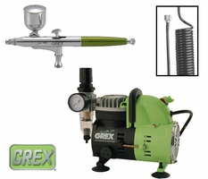 Grex Combo Kit w/ XS Airbrush & AC1810-A Compressor