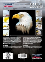 Harder Steenbeck 'Eagle Wildlife' Stencils with Step by Step Instructions