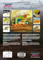Harder Steenbeck 'Frog Wildlife' Stencils with Step by Step Instructions