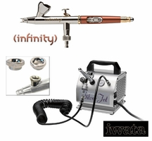 Infinity Detail Kit with Silver Jet Compressor