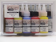 Iwata COM-ART Kit G, Opaque/Transparent Set