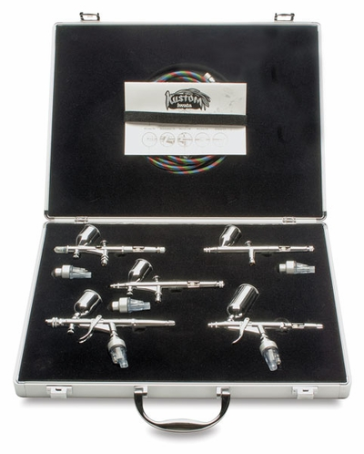 Iwata Kustom Airbrush Set - All 5 Airbrushes!