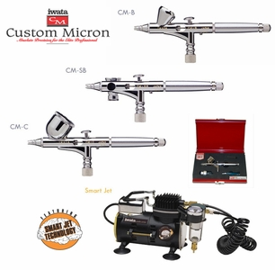 Iwata Micron Airbrush with Smart Jet Compressor
