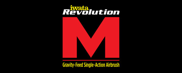 Iwata Revolution M-Series Airbrushes