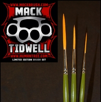Mack Tidwell Brushes - by Jeral Tidwell