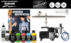 Mehron Lux / Harder Steenbeck Body Painting Intro Kit
