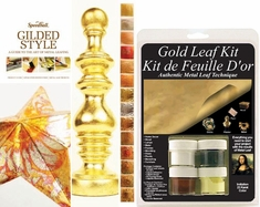 MONA LISA Gold Leaf Starter Kit with Speedball How-To Book