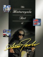 Motorcycle Art of Scott Jacobs - Full Color Book from Airbrush Action