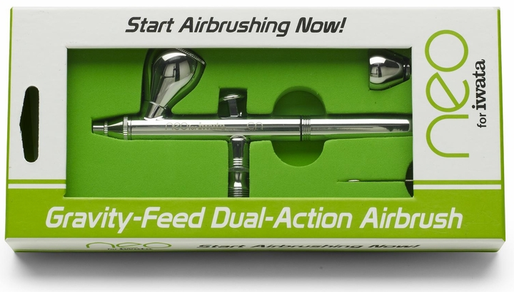 Neo for Iwata - CN Gravity-Feed Airbrush - Free Shipping!