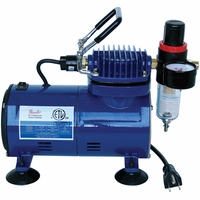 Paasche D500SR Airbrush Compressor w/ Regulator