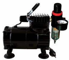 Paasche DA300R Airbrush Compressor w/ Regulator