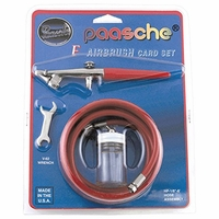 Paasche F-CARD Single Action Airbrush Set