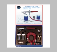 Paasche HS Single Airbrush Set - HS-SET