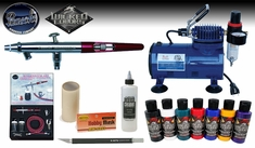 Paasche MIL Airbrush Hobby Kit