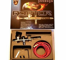 Paasche Raptor Gravity-Feed Airbrush RG-SET