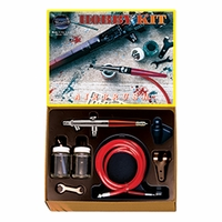 Paasche SI Hobby Kit 2000SI Single Action Internal Mix Airbrush