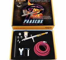 Paasche Talon TG-3F Set w/ 3 Nozzle Sizes and Fan Cap