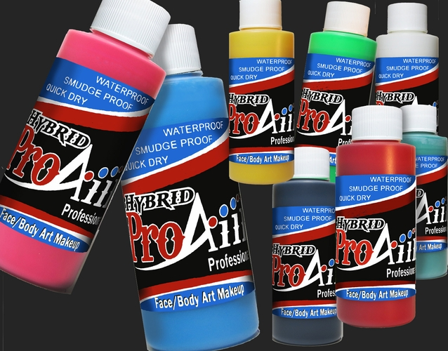 ProAiir Hybrid Face & Body Art Colors
