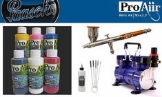 ProAiir Hybrid Intro Kit with Paasche Talon Airbrush & DA400R Compressor