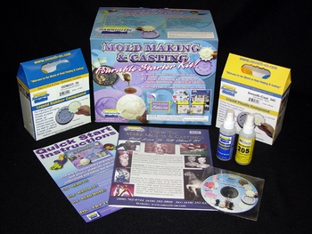 Silicone Pourable Starter Kit from Smooth-On