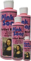 Speedball Pink Soap Brush Cleaner -