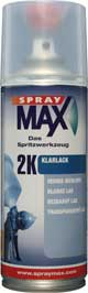SprayMax 2K Aerosol Clear Coat