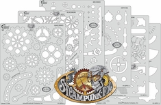 Steampunk FX Stencils FH SPFX 7 by Craig Fraser - ALL SIX!!