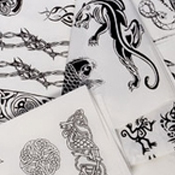 TEMPTU PRO Temporary Tattoos Themed Sheets