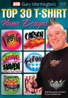 Top 30 T-Shirt Name Designs with Gary Worthington Airbrush Action DVD