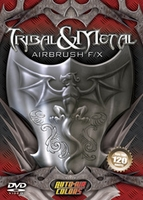 Tribal & Metal Airbrush DVD from Auto-Air