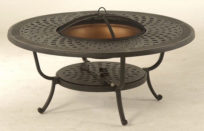 Fire pit table 48