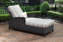 Cassini Collection All Weather Wicker Luxury Patio Furniture Chaise Lounge