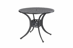 "Coordinate By Gensun Luxury Cast Aluminum Patio Furniture 36"" Round Dining Table"