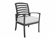 The Edgewood Collection By Alu-Mont Cast Aluminum Dining Chair