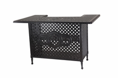 Grand Terrace By Gensun Luxury Cast Aluminum Patio Furniture Party Bar