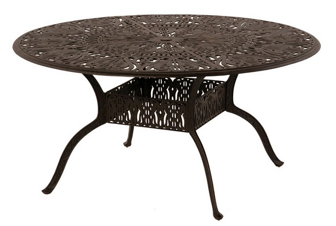 60 Round Table Patio Set Modern Patio amp Outdoor : grand tuscany by hanamint luxury cast aluminum patio furniture 60 round dining table 3 from patiodesign.susumeviton.com size 663 x 446 jpeg 89kB
