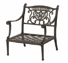 Grand Tuscany By Hanamint Luxury Cast Aluminum Patio Furniture Stationary Club Chair