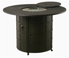 """Hanamint Newport Outdoor 54"""" Round Counter Height Enclosed Gas Fire Pit"""