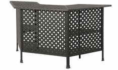 Newport By Hanamint Luxury Cast Aluminum Patio Furniture Party Bar