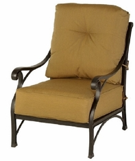 Newport By Hanamint Luxury Cast Aluminum Patio Furniture Stationary Club Chair