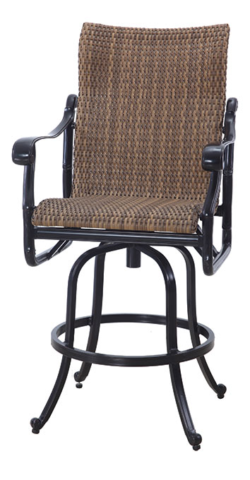San Marino By Gensun Woven High Back Patio Furniture