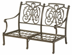 St. Augustine By Hanamint Luxury Cast Aluminum Patio Furniture Loveseat