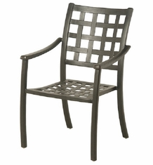 Stratford By Hanamint Luxury Cast Aluminum Stationary Dining Chair