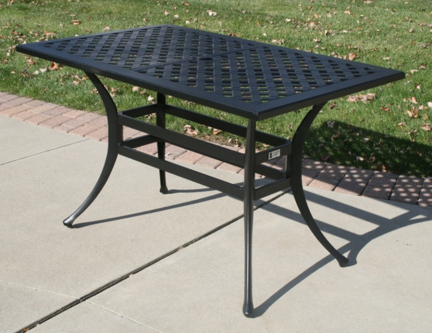 Ansley Luxury 4 Person All Welded Cast Aluminum Patio