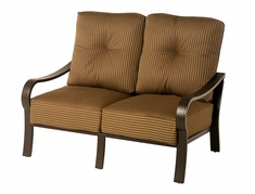 The Crestwood Collection By Alu-Mont Cast Aluminum Loveseat