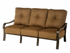 The Crestwood Collection By Alu-Mont Cast Aluminum Sofa