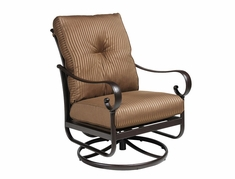 The Santa Barbara Collection By Alu-Mont Cast Aluminum Club Chair