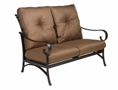 The Santa Barbara Collection By Alu-Mont Cast Aluminum Loveseat