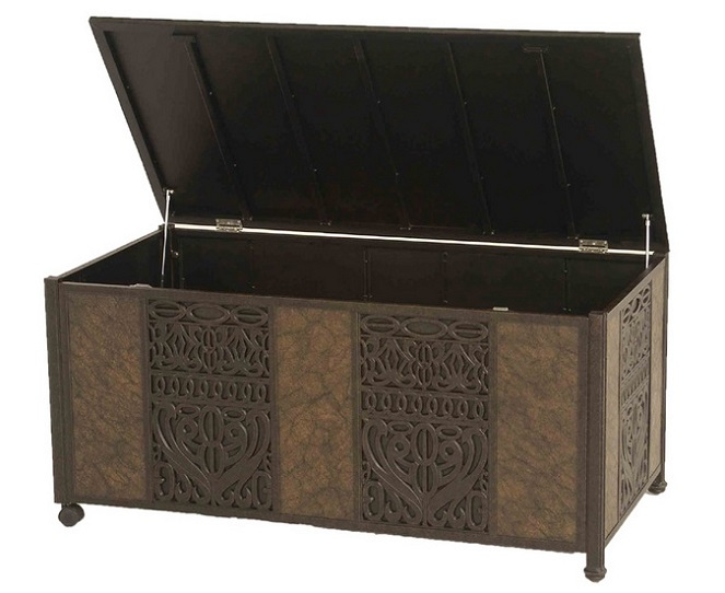 Tuscany By Hanamint Cast Aluminum Luxury Patio Furniture Storage Box