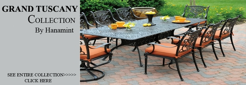 View All Hanamint Collection Grand Tuscany Cast Aluminum